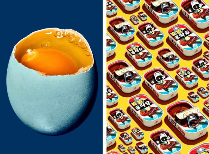 Les minimalistes photographies food de Bobby Doherty