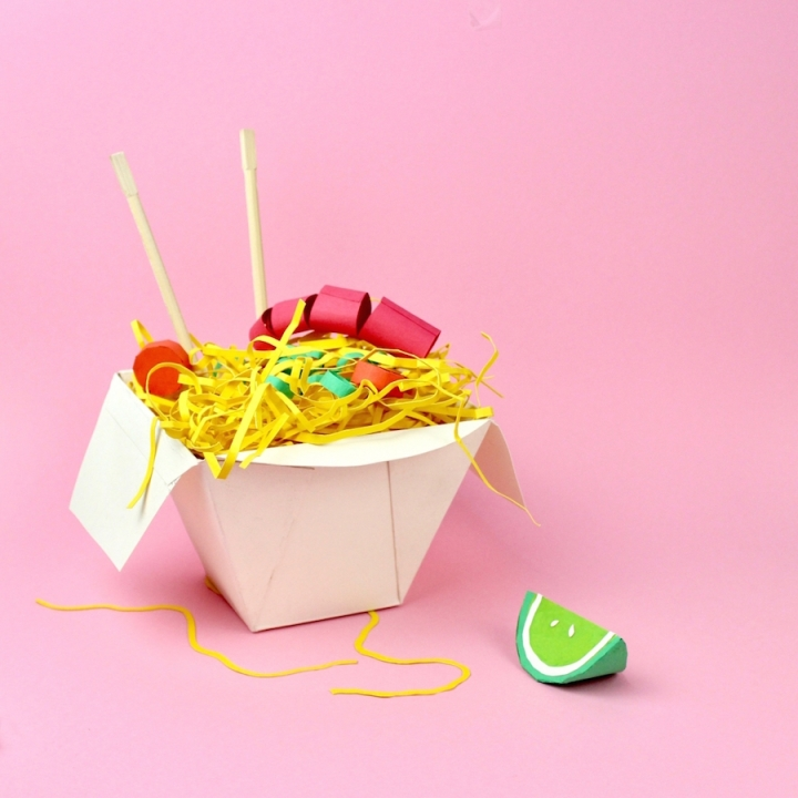 Delicious Paper Craft Meals : des plats en papier !